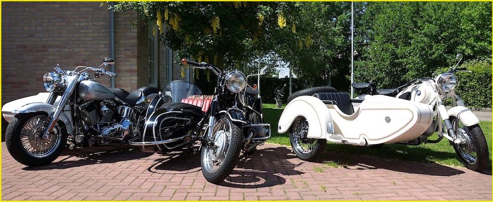 wagenpark Harley Fatboy BMW R50